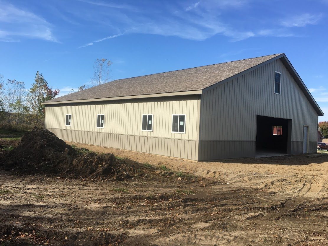 Post frame buildings pole barns milmar contractors for Pole barn construction