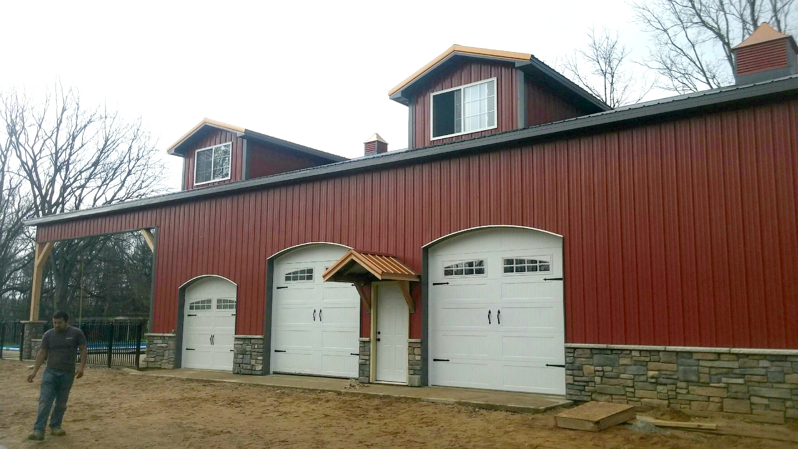 Decorative options for your pole barn | MilMar Pole Buildings on most beautiful house designs, brick house designs, house roof designs, house eave designs, house gable designs,
