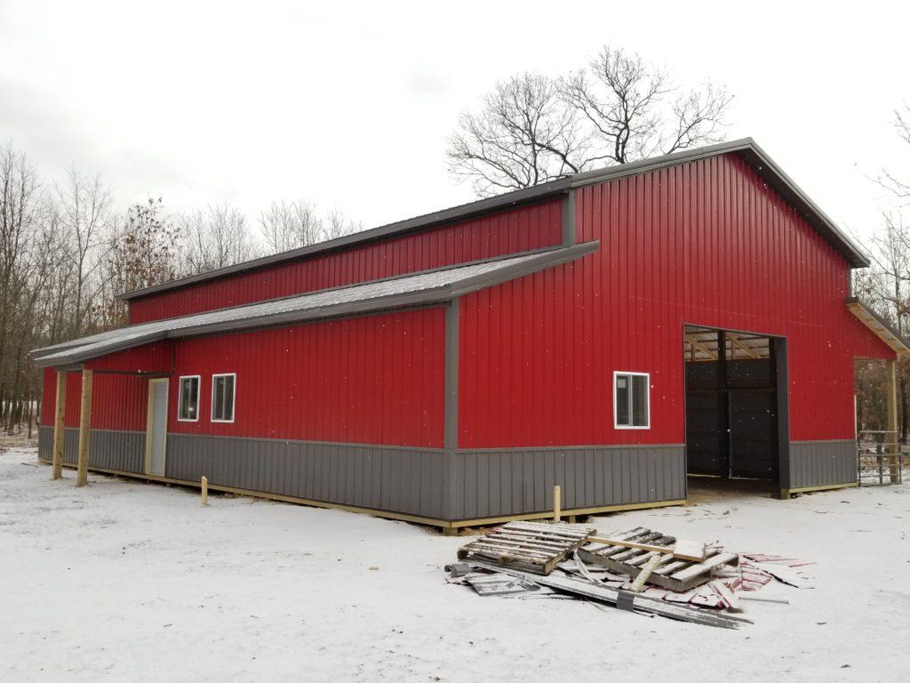 Choosing Pole Barn Colors Milmar Buildings