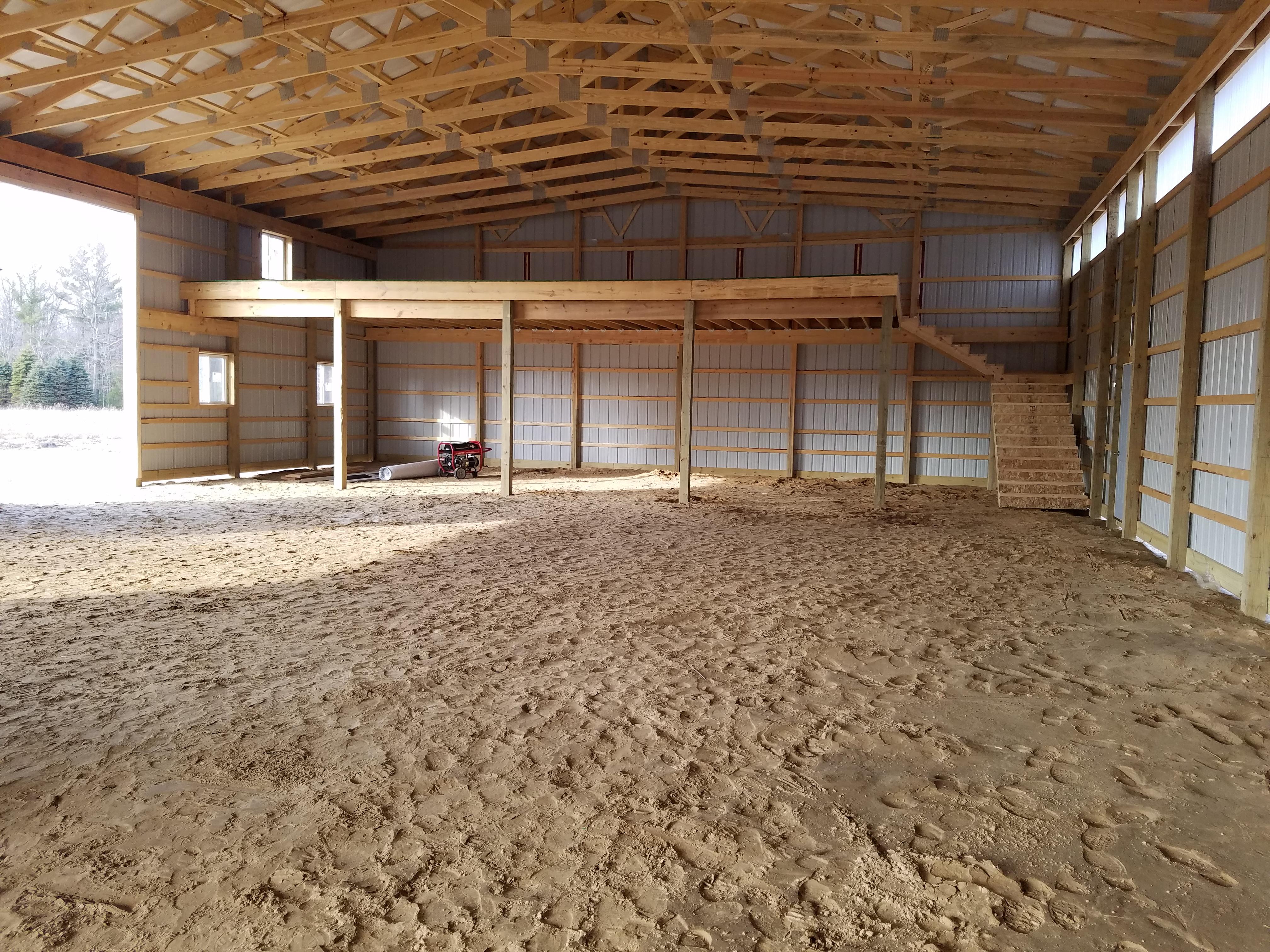 Site Prep For Pole Barns Milmar